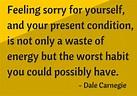 Carnegie selfpity